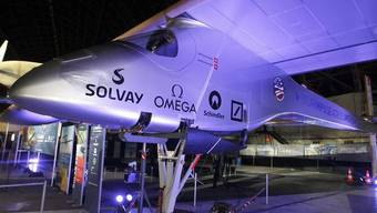 Piccard will mit dem allein mit Sonnenenergie betriebenen Flugzeug die USA überqueren