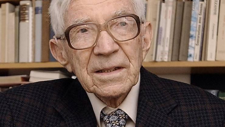 Roland Kuhn am 12. Februar 2002.