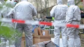 Ein Mann erschiesst in Hamburg den Begleiter seiner Freundin