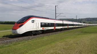 Mit diesem Zug stellte die SBB einen Geschwindigkeitsrekord im Gotthard auf. (Archivbild)