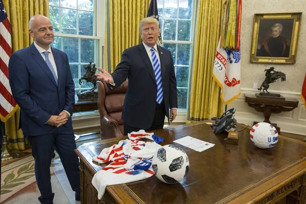 Die USA Werden 2026 zusammen mit Kanada und Mexiko die WM durchführen.