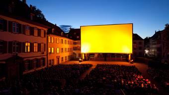 Das Orange Cinema auf dem Münsterplatz startet am 26. Juli.