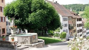 Die Altstadt von Kaiserstuhl.
