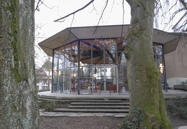 Das sogenannte Sachs-Foyer ist Streitpunkt zwischen der Stadt Baden und dem Kanton. Der Kanton will es unter Denkmalschutz stellen lassen, die Stadt Baden nicht.