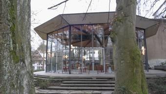 Das Sachs-Foyer beim Kurtheater Baden