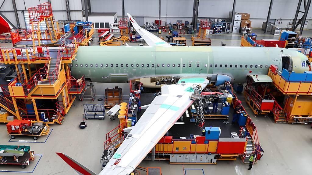 Airbus verbuchte im Corona-Jahr mehr Aufträge als Stornos