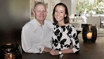 Das Wirte-Ehepaar Felix Suter und Sandra Marugg Suter können sich über 18 Gault-Millau-Punkte freuen