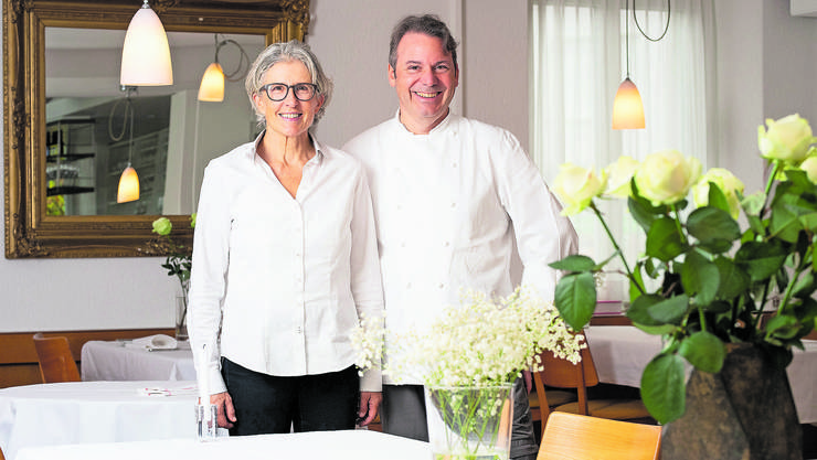 Marianne Müller und Martin Bänziger führen seit 20 Jahren gemeinsam den «Bänziger».