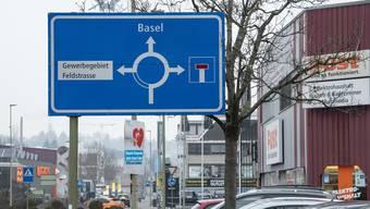 Wegen dieser Strasse geht eine ganze Gemeinde auf die Barrikaden: Oberwil wehrt sich gegen die Verländerung der Langmattstrasse.