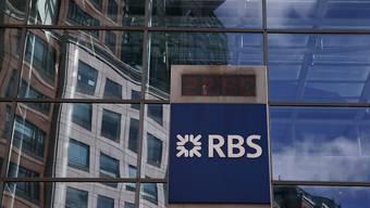 Die Royal Bank of Scotland musste eine höhere Busse als erwartet bezahen. Der Aktienkurs legte dennoch zu. (Archivbild)