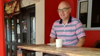 Martin Wildi (55) aus Staufen ist seit Jahren als Globetrotter unterwegs.