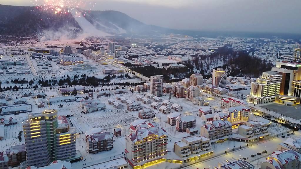 Kim Jong Un feiert Einweihung einer neuen Stadt