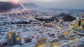 Soll Aushängeschild des Sozialismus werden: die neue Stadt Samjiyon in Nordkorea.