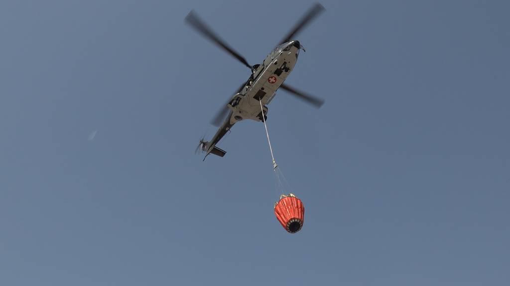 So erleben die Schweizer Heli-Piloten den Einsatz in Griechenland