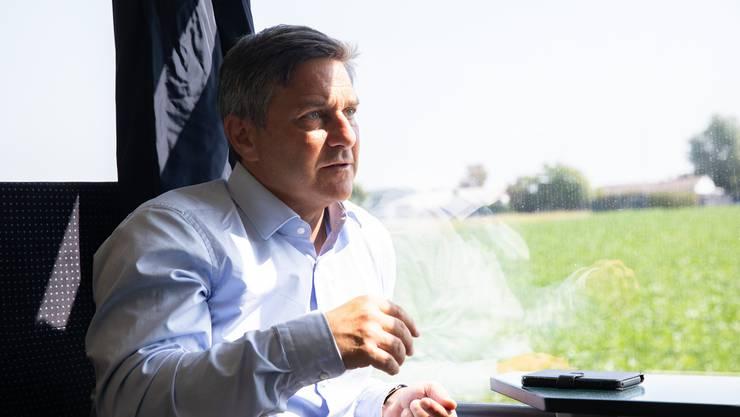 Seit zehn Jahren ist Giorgio Tuti Präsident des SEV.