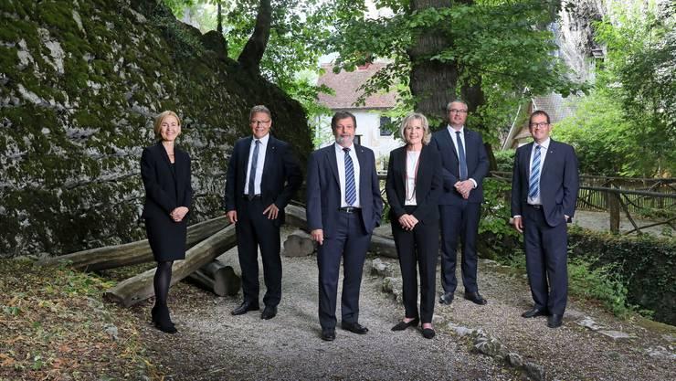 Das offizielle Solothurner Regierungsratsfoto.