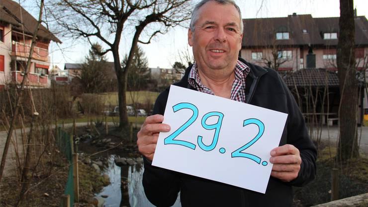 Herbert Wohler wird heute 64, feiert aber erst seinen 16.Geburtstag.