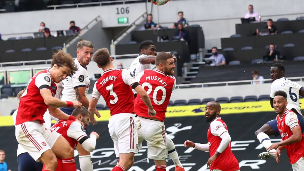 Nackenschlag in Minute 81: Der Kopfball von Tottenhams Toby Alderweireld findet den Weg ins Tor