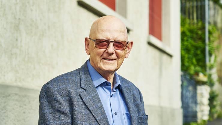 Seit über 40 Jahren am Ländliweg daheim: Martin Wetter.