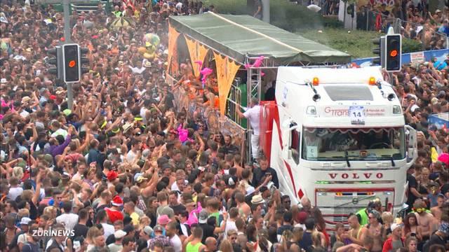 Street Parade: 80 Anzeigen wegen Pfefferspray-Dieben