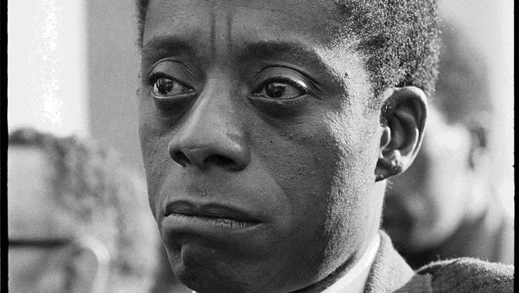 Der US-Autor James Baldwin (1924-1987) schrieb über die Geschichte des Schwarzen in Amerika. Magnolia Pictures