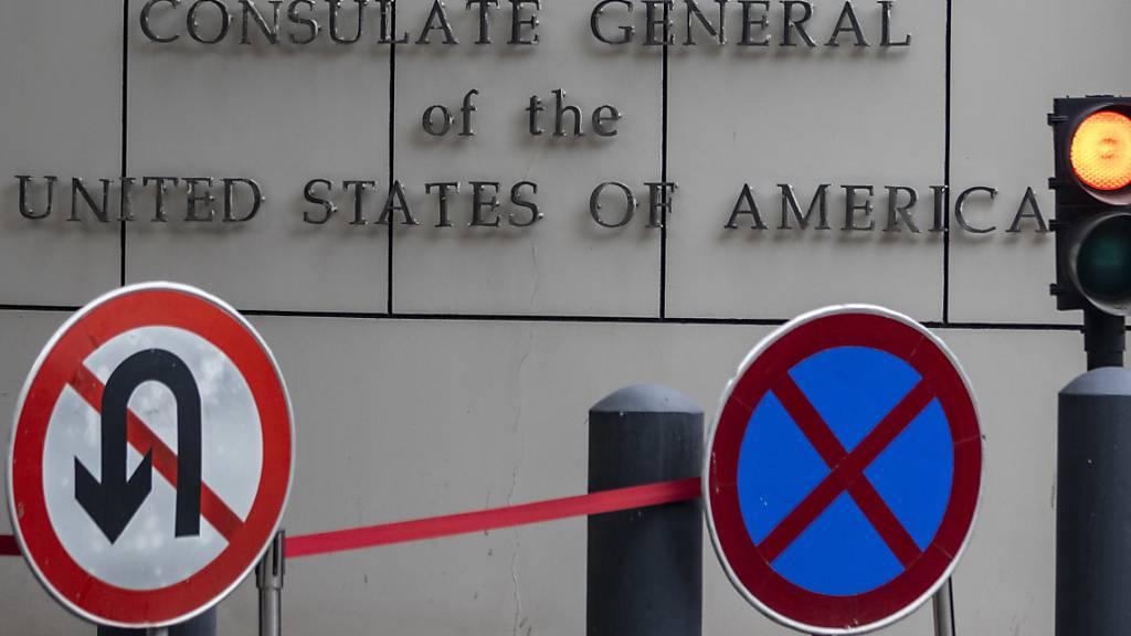 Schliessung des US-Generalkonsulats in Chengdu vollzogen
