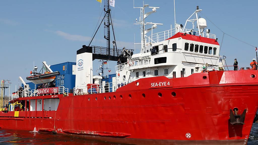 Neues Flüchtlingsrettungsschiff «Sea-Eye 4» nimmt Einsatz auf