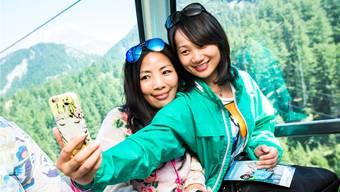 Das Wallis ist bei chinesischen Gästen beliebt, eine TV-Sendung soll dies noch verstärken. STEFAN BOHRER/Keystone