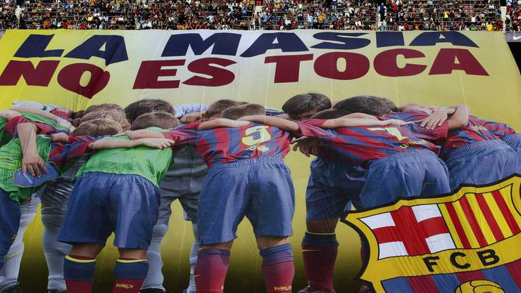 «La Masia» ist die berühmte Fussball-Akademie des FC Barcelona.