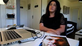 Béatrice Huret verliebte sich in einen iranischen Flüchtling und unterstützte ihn auf dem Weg nach England – jetzt wird sie angeklagt. Pascal Rossignol/Reuters