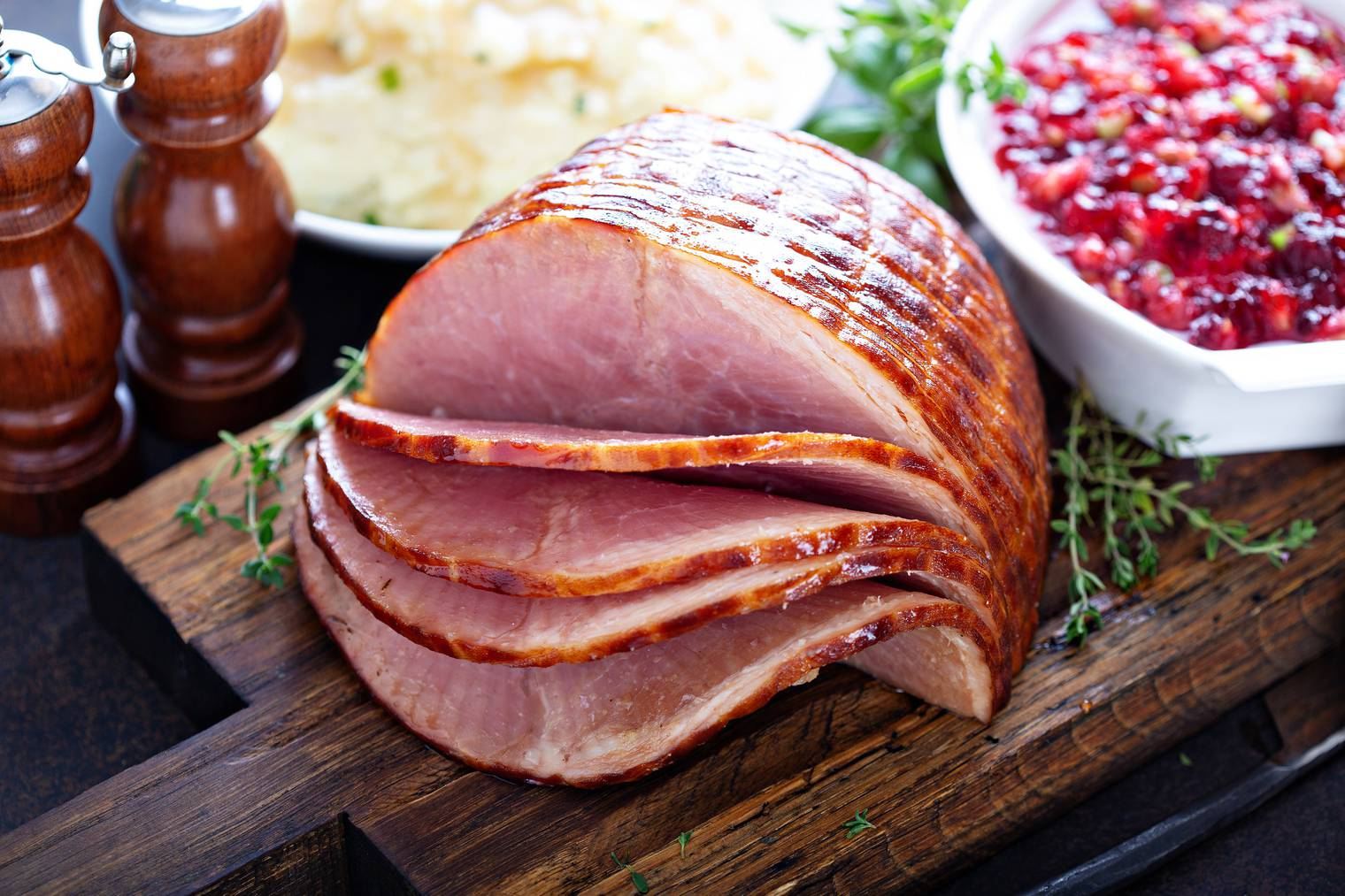 Christmas Ham in den USA.