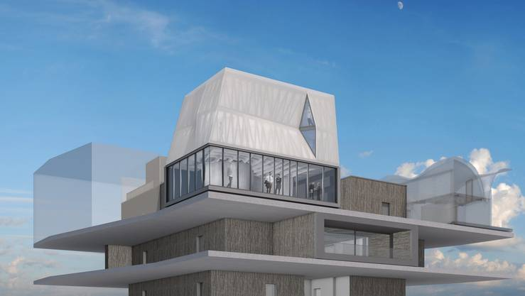 Bauen für die Forschung Bei der Empa in Dübendorf bauen Architekten und Materialwissenschafter das weltweit erste Haus mit digitaler Bauweise, das DFAB House».