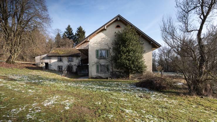 Wird durch mehrere Schutzauflagen vor Veränderungen bewahrt: Der Bauernhof Wilmatt in Winznau.