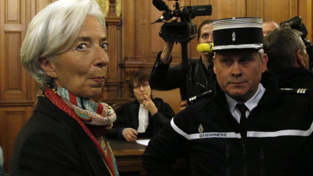 Am Montag verkündet das Gericht das Urteil im Fall Christine Lagarde. (Archiv)