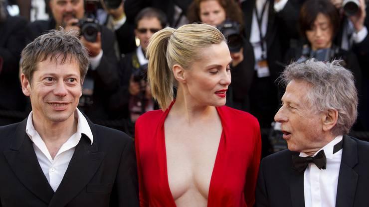 Emanuelle Seigner am Filmfestival in Cannes 2013