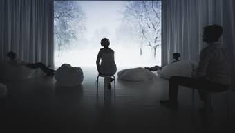 Das Schönste am Schnee wird in der Ausstellung «Sounds of Silence» in Bern erlebbar: Dass er die Welt still macht.