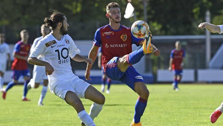 Daniele Vesco war bei den Junioren des FCB der überragende Mann.