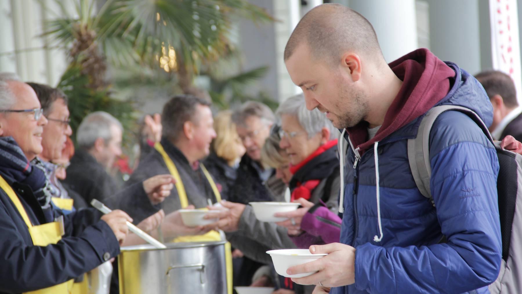 Heute ist Suppentag in Luzern