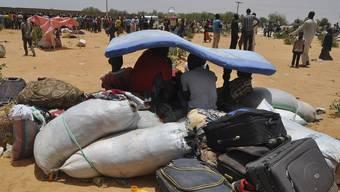 Flüchtlinge in der Wüste: In der Sahara ist es zu einer Tragödie gekommen, die 44 Menschen das Leben gekostet hat. (Symbolbild)