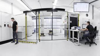 Bekenntnis zu Luterbach: Schaffner nimmt neues Hightech-Labor in Betrieb