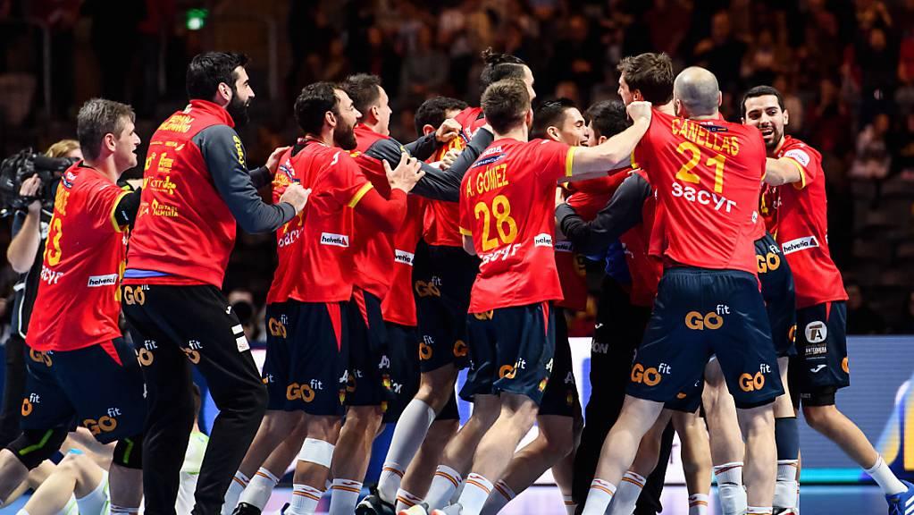 Spaniens Handballer sind erneut Europameister