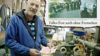 Urs Schmitz schaffte es diesmal nicht zum Langenthaler Jasskönig. Nun drückt er dem neuen Langenthaler Quartett die Daumen – auf dass es diesmal ein Fest mit TV gibt (vgl. Ausriss dieser Zeitung vom 19. Juli 2002).