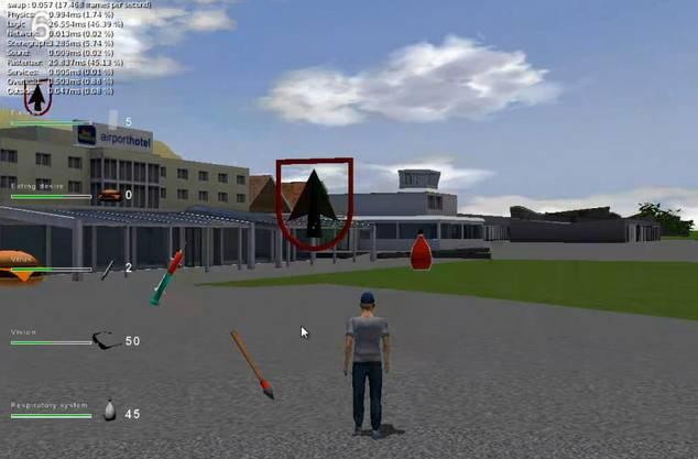 Bild aus dem Spiel «G-Town»
