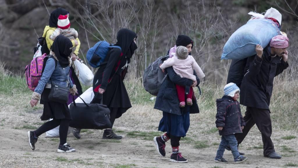 Migrationsdruck an griechischer Grenze weiterhin hoch