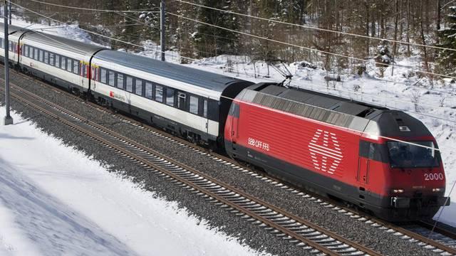 Die SBB muss für Verspätungen im internationalen Zugverkehr bezahlen (Symbolbild)