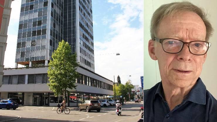 «Es hat ja mehrere Parkhäuser in der Nähe»: Hans Wanner zu einem Wegfall von Parkplätzen.