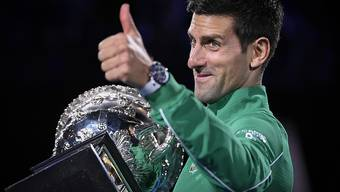 Novak Djokovic steht nach seinem Sieg am Australian Open im Januar bei 17. Grand-Slam-Titeln