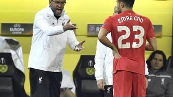 Liverpool-Coach Jürgen Klopp wie er leibt und lebt bei seiner Rückkehr nach Dortmund
