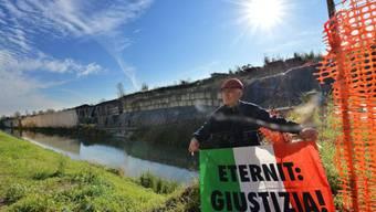 Angehörige der Asbest-Opfer fordern Gerechtigkeit (Archiv)