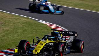 Renault (im Bild Fahrer Daniel Ricciardo) wird nachträglich  in action during the Japanese Formula One Grand Prix in Suzuka, Japan, 13 October 2019. EPA/DIEGO AZUBEL